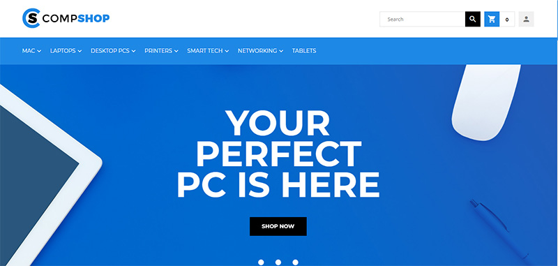 CompShop Magento theme