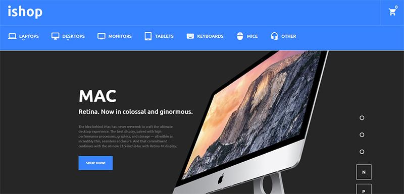 iShop Magento theme