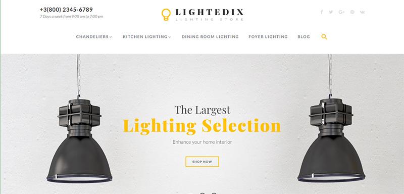 Lightedix Magento theme