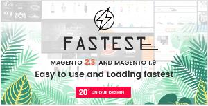 Fastest Magento theme