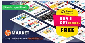 Market Magento theme