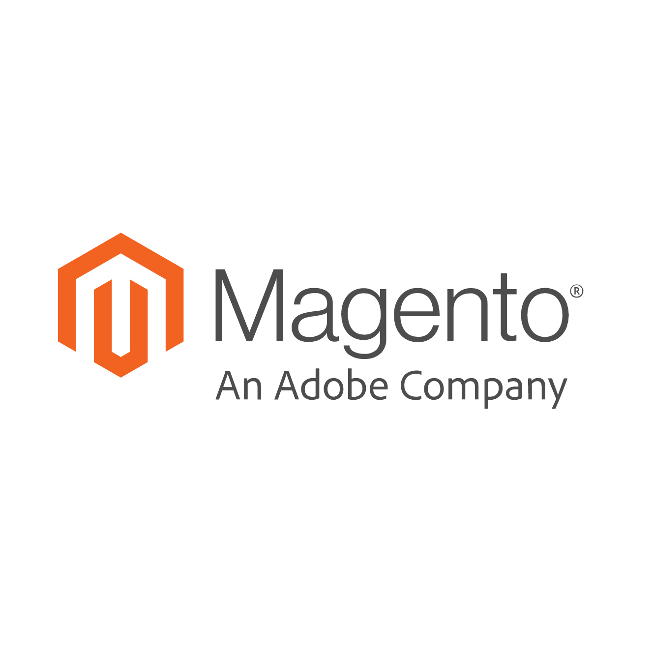 Adobe Magento logo: Magento jako Adobe Company
